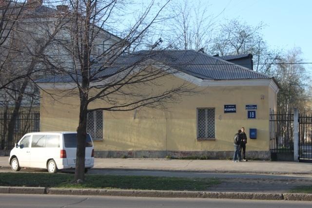 Больница ОАО «Северсталь» на ул Металлургов, 18